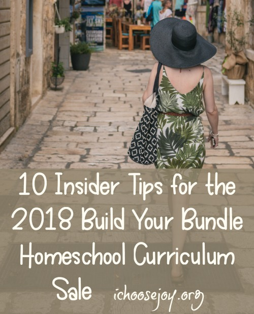 10 Insider Tips for the 2018 Build Your Bundle Homeschool Curriculum Sale Pinterest
