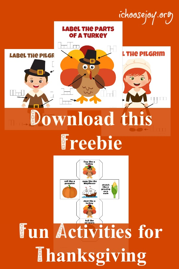 Download this Freebie Fun Activities for Thanksgiving #thanksgiving #kidsactivities #freebie #printable