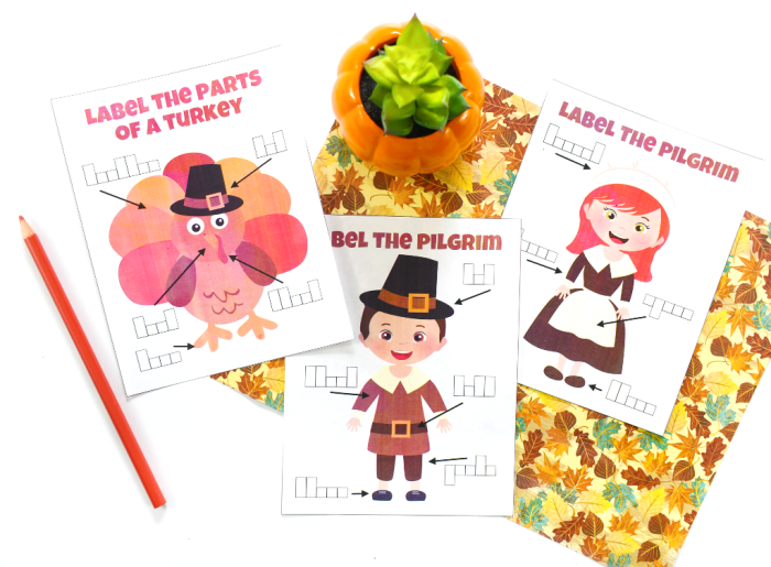 Thanksgiving Label the Parts freebie printable to keep kids busy on Thanksgiving #thanksgiving #kidsactivity #freebie #printable #ichoosejoyblog