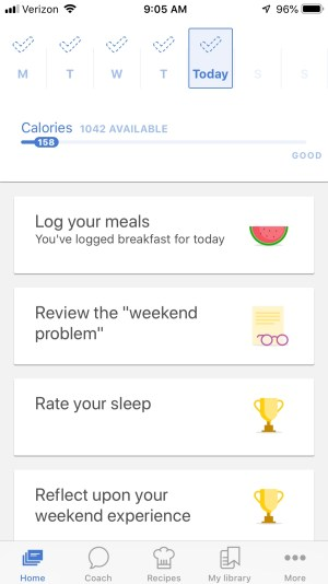 The Surefire Way to Lose 20 Pounds This Year. The Noom app. #weightloss #gethealthy #loseweight #ichoosejoyblog