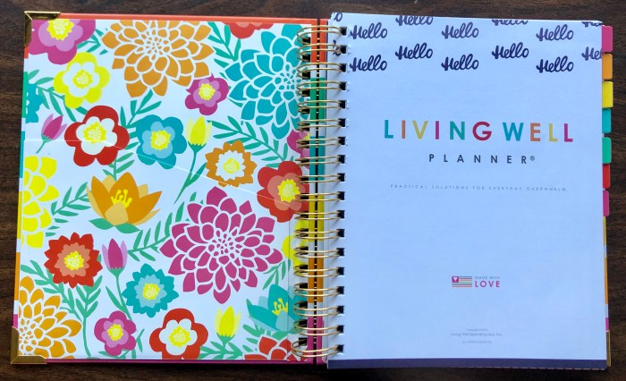 The Living Well Planner is the planner I'm using this year to crush my goals and do it scared in my home, my homeschool, and my business. #livingwellplanner #planner #plannergirl #ichoosejoyblog