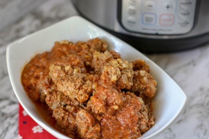 Instant Pot Low Carb Porcupine Meatballs Recipe