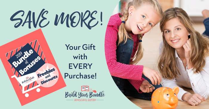 The Bundle of Bonuses is a free gift for everyone who makes a purchase at the Build Your Bundle sale. Get freebies and discounts!