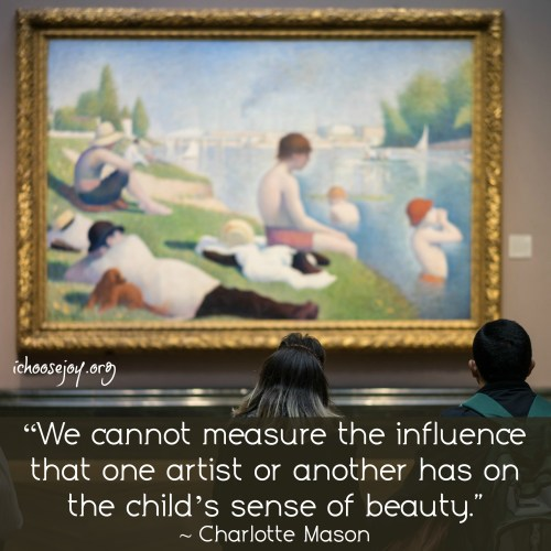 Artist study and Picture study the Charlotte Mason way #charlottemason #artiststudy #picturestudy #ichoosejoyblog