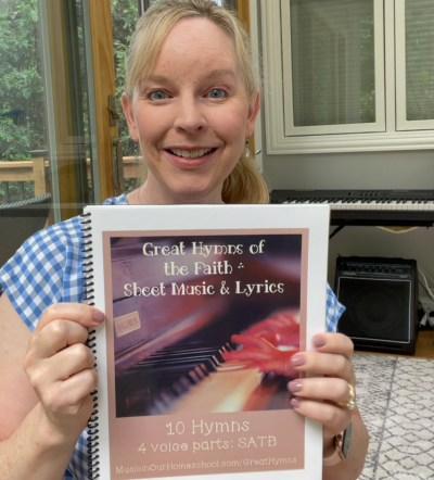 Great Hymns of the Faith sheet music and lyrics printed by Family Nest Printing