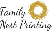 Family Nest Printing for all your homeschool printing needs!