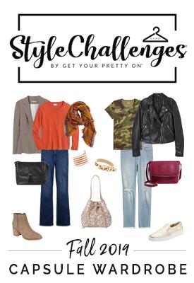 Get Your Pretty On Style Challenge for Homeschool Mom Fashion #ichoosejoyblog #momfashion #stylechallenge