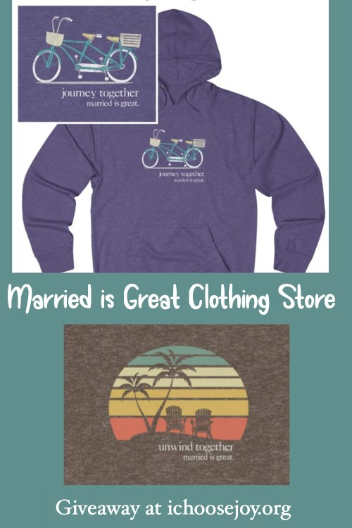 Married is Great shirts is various designs and colors