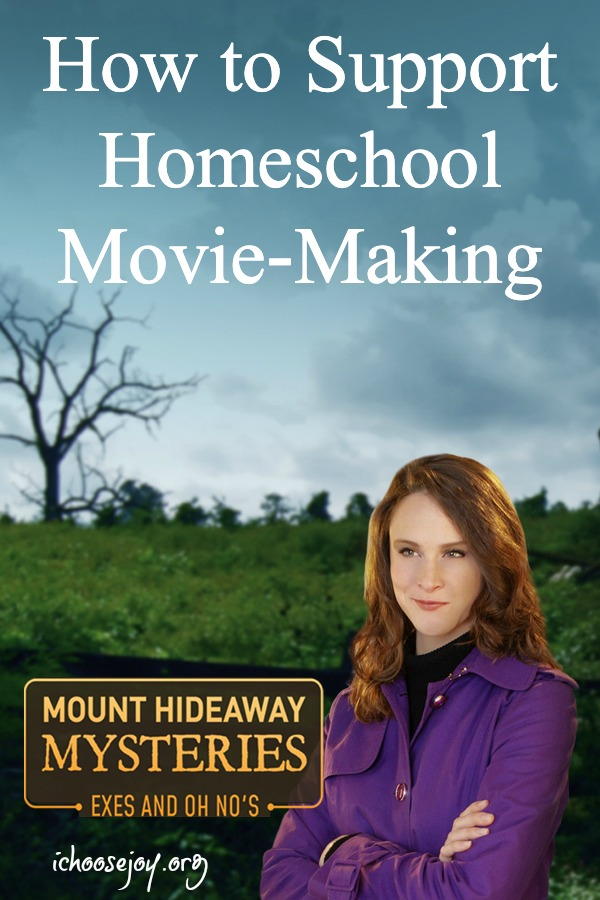 MoHow to Support Homeschool Movie-Making and review of Mount Hideaway Mysteries