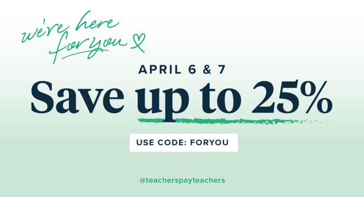 Teachers Pay Teachers sale