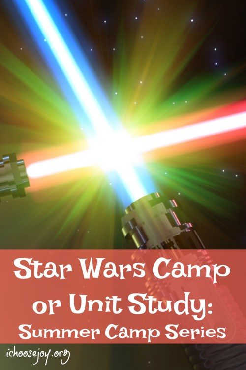 Star Wars Camp or Unit Study (Summer Camp Series)