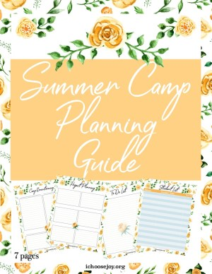 Free Summer Camp Planning Guide