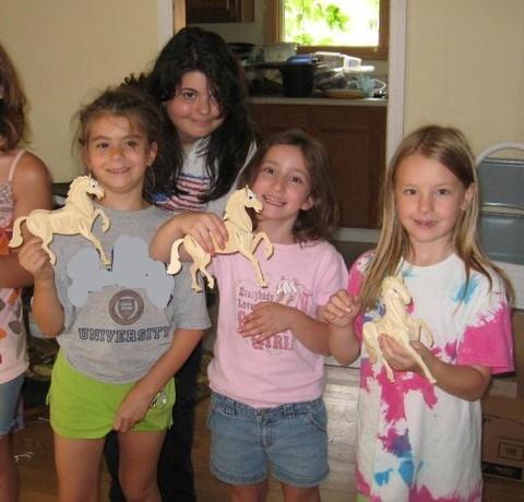 I Love Horses Camp toy horses