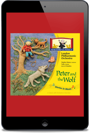 "Find ""Peter and the Wolf"" in the Homeschool Grab Bag 2020!"