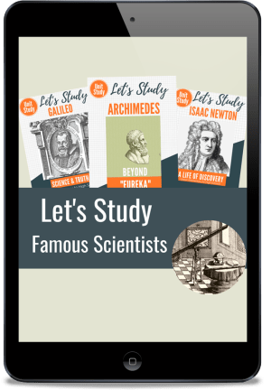"Find ""Famous Scientists"" in the Homeschool Grab Bag 2020!"