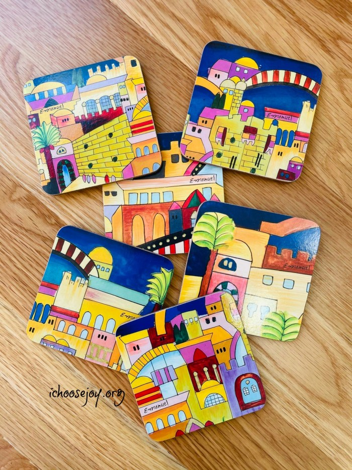 Artza Box - the coasters