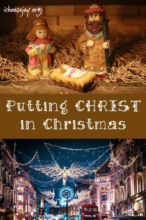 Putting CHRIST in Christmas