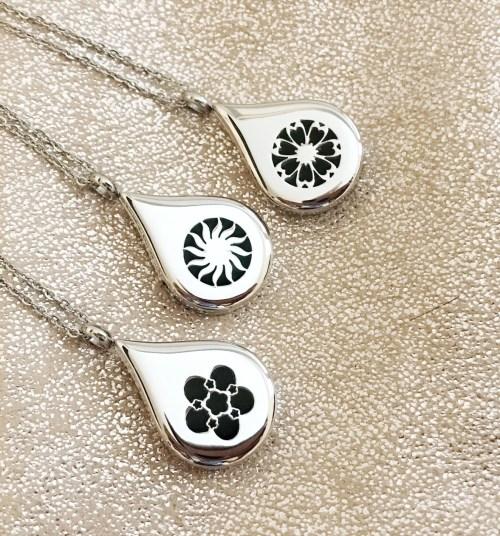 Drops of oil pendants (of oil drops): essential oil jewelry