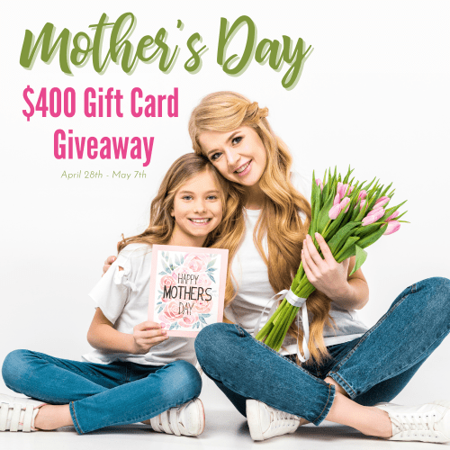 Mother's Day cash giveaway