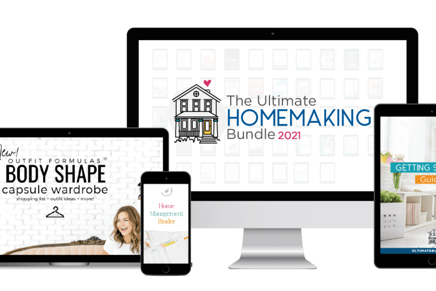 All about the Ultimate Homemaking Bundle 2021