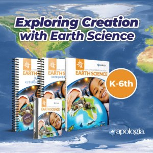 Exploring Creation with Earth Science new elementary science curriculum from Apologia