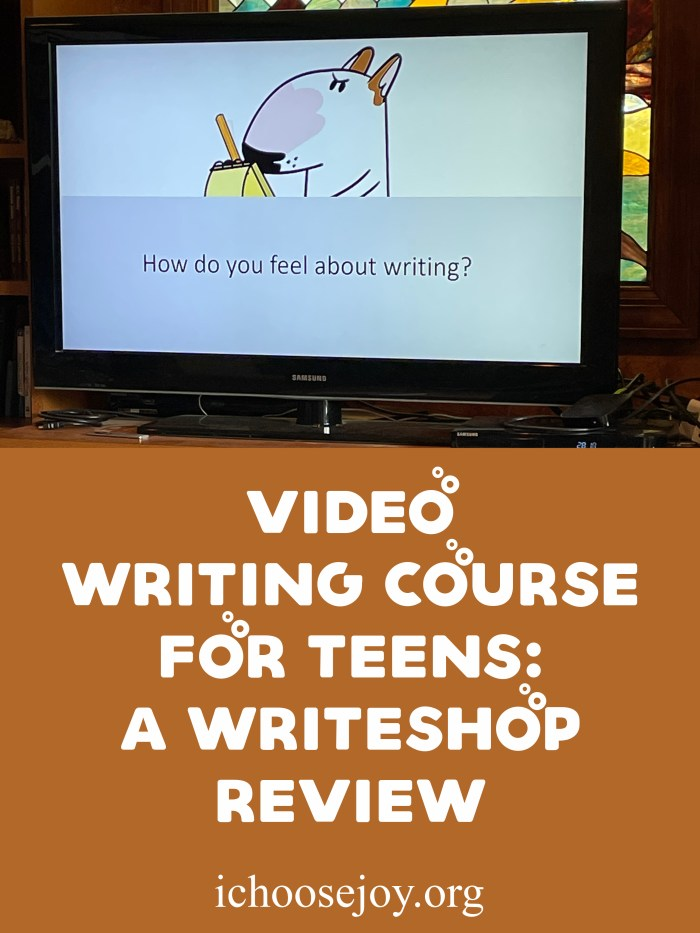 Video Writing Course for Teens_ A WriteShop Review