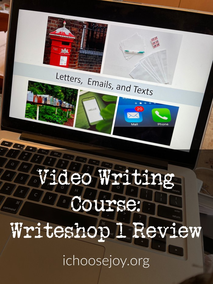 Video Writing Course_ Writeshop 1 Review