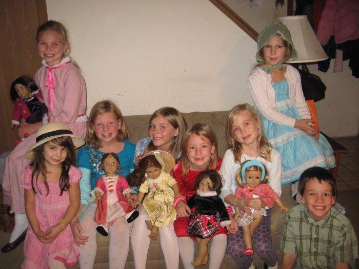 A Liber-tea Tea Party while studying Felicity in American Girl Book Club.