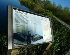 Anhinga Trail im Everglades Nationalpark