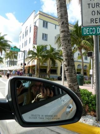 Cruising on Ocean Drive