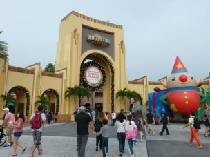 Eingang zu den Universal Studios Florida