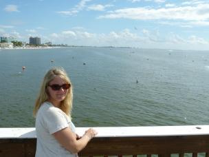 Ausblick vom Pier