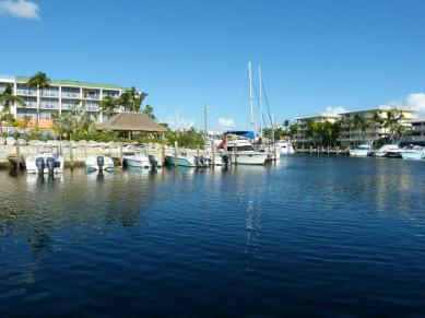 Key Largo Hafen