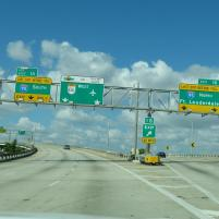 Amerika USA Florida Miami Highway Autobahn