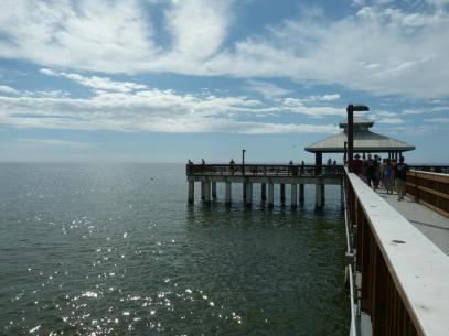 Pier von Fort Myers Beach