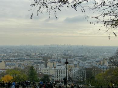 Ausblick auf Paris vom Montmartre-Hügel