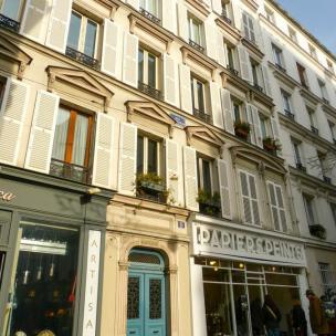 Häuser in Montmartre