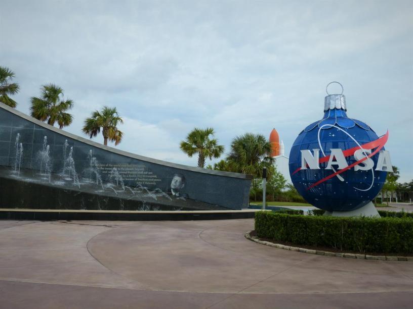 USA Florida Cape Canaveral Kennedy Space Center KSC NASA