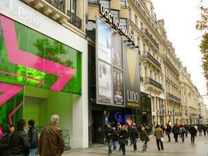 Shopping auf der Champs-Elysées