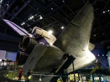 Space Shuttle Atlantis von unten-1200x900