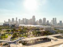 Downtown Miami im Sonnenschein-1200x900