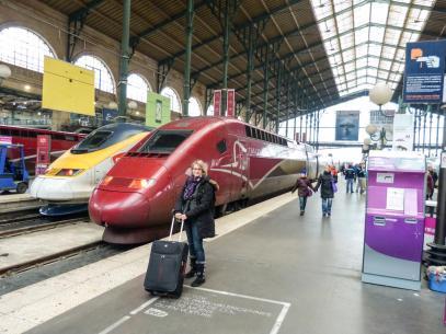 Thalys Zug Paris Anreise Gare du Nord