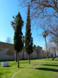 Portugal Algarve Faro Altstadt Stadtmauer