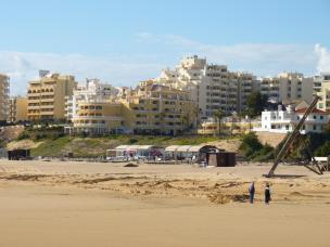 Portugal Algarve Portimao Praia da Rocha Strand Meer Hotel Oriental