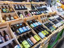 Portugal Algarve Loulé Altstadt Markt Bier