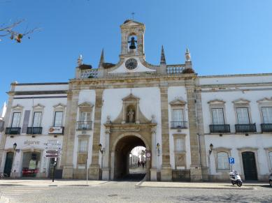 Portugal Algarve Faro Altstadt Stadttor