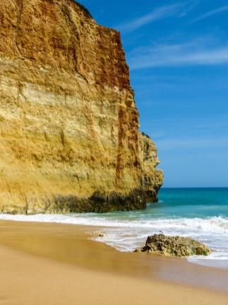 Algarve Benagil Strand Klippen