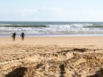 Portugal Algarve Portimao Praia da Rocha Strand Meer