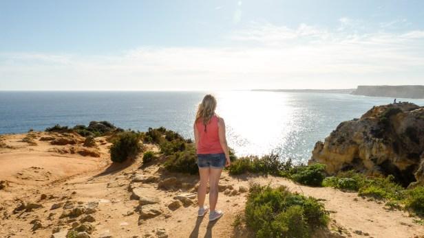 Algarve Lagos Ponta da Piedade Küste Meer schönstes Foto