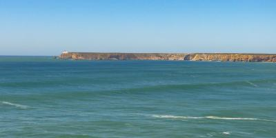 Algarve Ponta de Sagres Cabo Sao Vicente Küste Meer